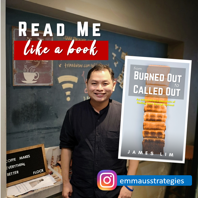 James as a Human Book on Thriving over Burnout