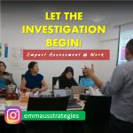 Let the Investigation Begin!