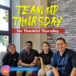 Team-Up Thursday for Thankful Thursday