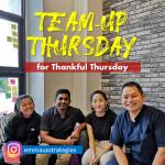 Team-Up Thursday for Thankful Thursday