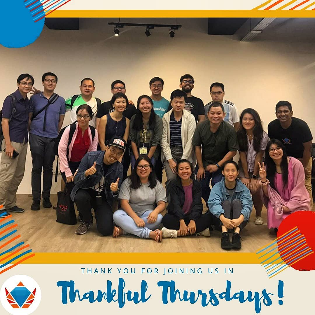 Group Photo with Thankful Thursday Community