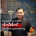 Read our Latest Cheatsheet on Changemaking