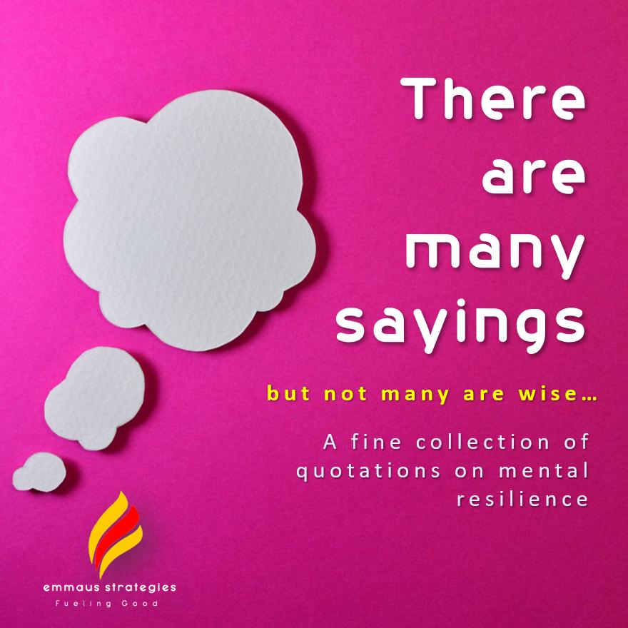 Sayings on Mental Resilience