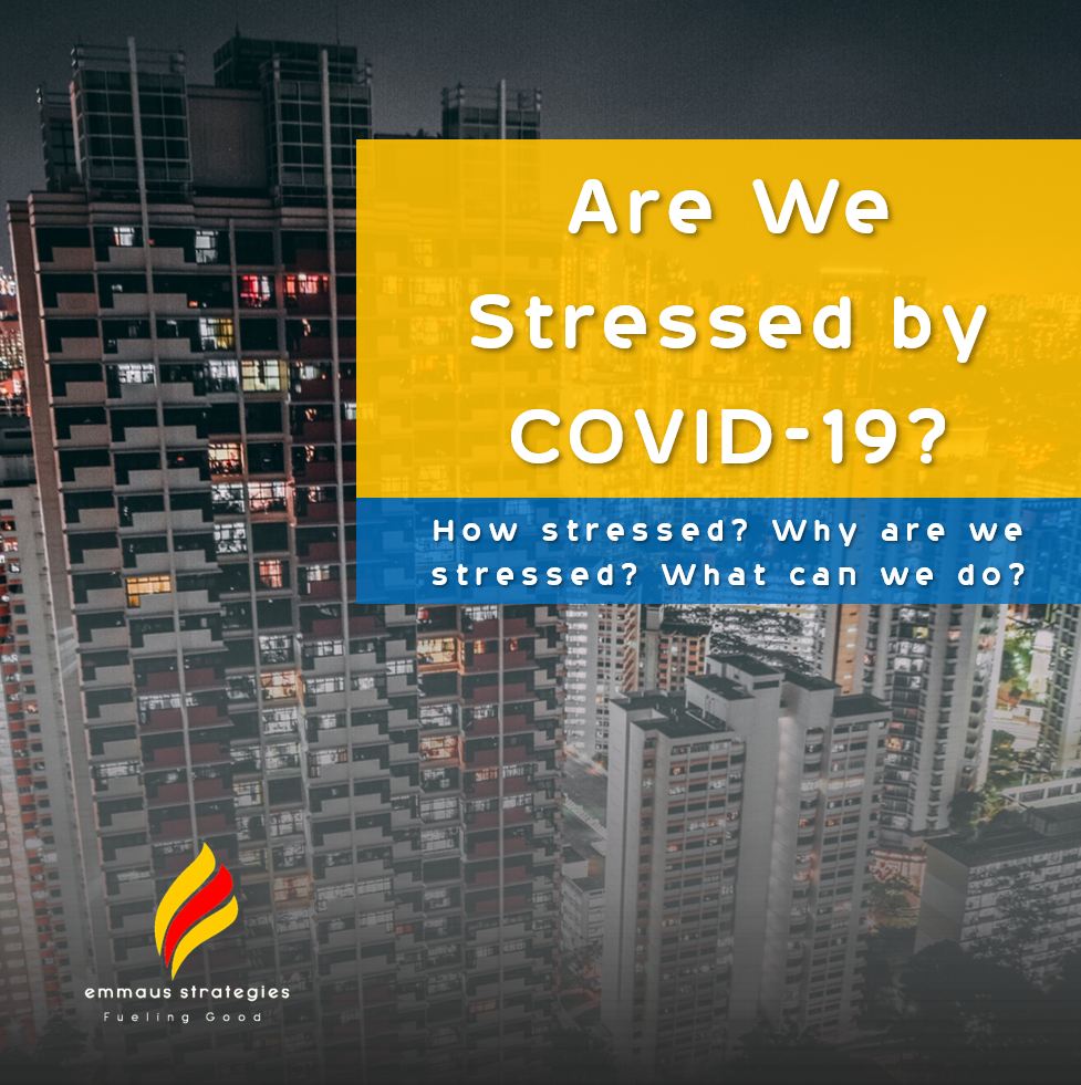 How Stressed are we by COVID-19?